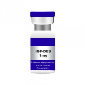 IGF-1 DES 1,3 1mg. USA MADE PEPTIDE, HIGHEST QUALITY AVAILABLE.